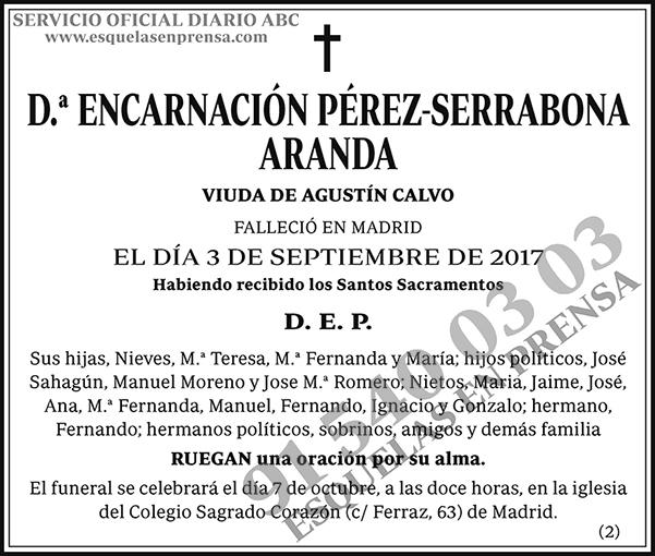 Encarnación Pérez-Serrabona Aranda